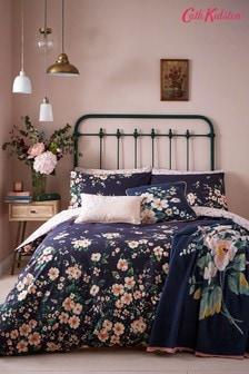 Cath Kidston Blue Spitalfields Duvet Cover and Pillowcase Set