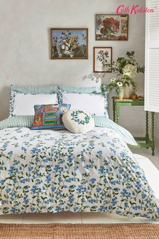 Cath Kidston Blue Forget Me Not Duvet Cover and Pillowcase Set