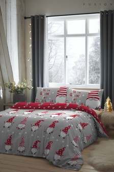 Fusion Gnome For Christmas Duvet Cover And Pillowcase Set (T00489) | $26 - $48