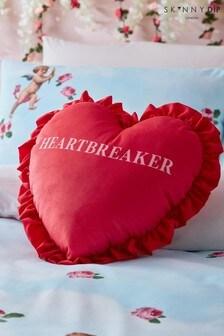 Skinnydip Red Heartbreaker Cushion