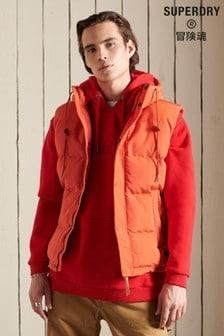 Superdry Hooded Everest Gilet (T03841) | $111