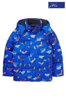Joules Blue Wren Showerproof 2 in 1 Padded Coat