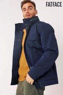 FatFace Blue Waterproof M65 Jacket