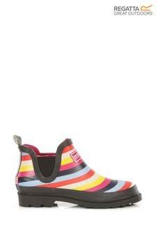Розовые женские резиновые ботинки Regatta Harper