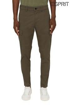 Esprit Green Mens Trousers