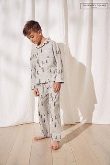 The White Company London Classic Flannel Pyjamas