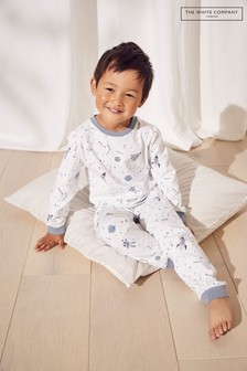 The White Company Multicolour Outer Space Pyjamas