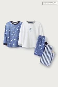 The White Company Spaceman Pyjamas 2 Pack