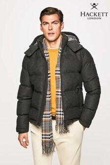Hackett CLSC Flannel Puffer Coat