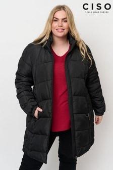 CISO Black Padded Coat