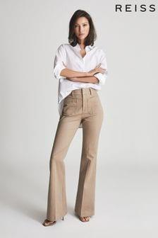 חולצת מכותנה פופלין של Reiss דגם JENNY
