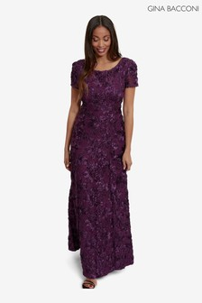 Gina Bacconi Nava Sequin Detail Gown