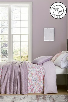 Katie Piper Pink Calm Daisy Duvet Cover and Pillowcase Set