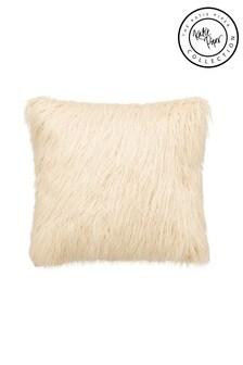 Katie Piper White Restore Fluffy Cushion
