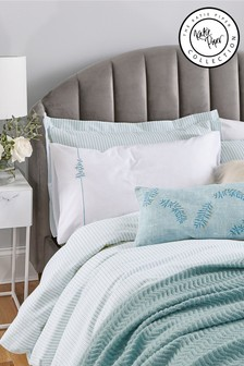 Katie Piper Green Restore Knitted Throw
