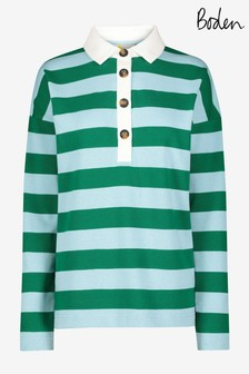 Boden Natural Phillipa Rugby Top