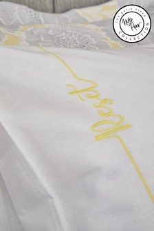 Katie Piper Yellow Reset Affirmation Pillowcase