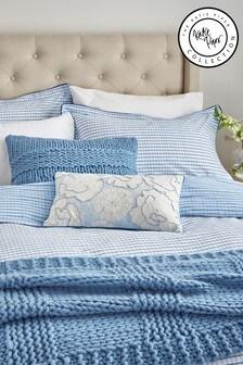 Katie Piper Blue Be Still Affirmation Pillowcase