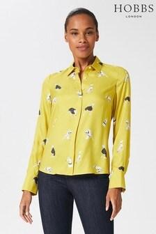 חולצה צהובה של Hobbs דגם Alana