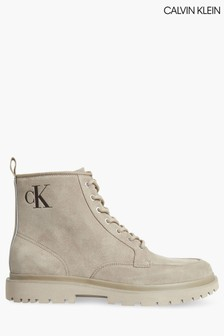 Calvin Klein Lace-Up Boots
