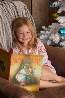Hatley Pink The Nutcracker Nightdress With Book Set