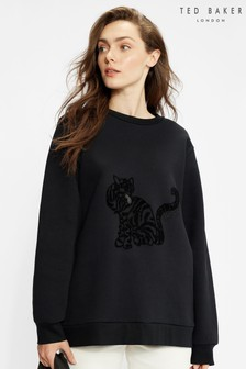 Ted Baker Skky Cat Print Sweat