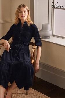 فستان قميص طبقات Ellen من Boden