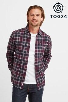Tog 24 Red Willis Mens Long Sleeve Shirt