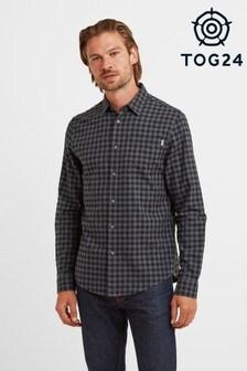 Tog24 Blue Wilfred Mens Long  Sleeve Shirt