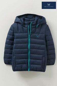 Crew Clothing Company Blue Lightweight Jacket