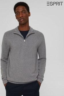 Esprit Mens Grey Sweater
