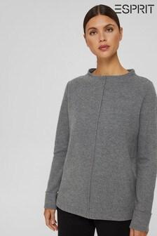 Esprit Womens Grey Sweatshirt