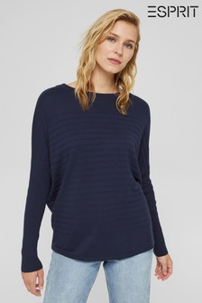 Esprit Womens Blue Sweater