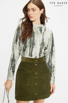 Ted Baker Green Sonoma Printed Sweat Top