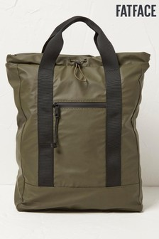 FatFace Mens Green Weather Proof Rucksack