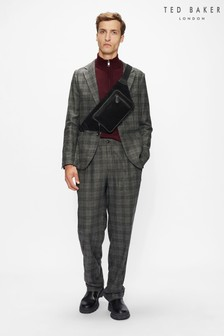 Ted Baker Grey Hopdart Flood Length Check Trousers