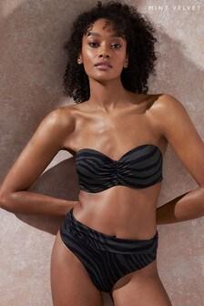 Mint Velvet Midi Bikini Briefs
