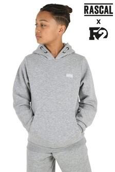 Rascal Boys Grey Essential Hoody