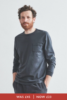 Navenby Long Sleeve Pocket T-Shirt
