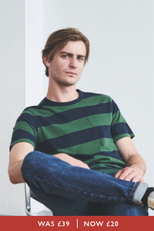 Huntstaw Stripe T-Shirt