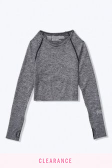 Victoria's Secret PINK Seamless Workout Cropped Crew