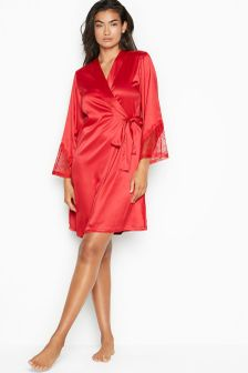 Victoria's Secret Chantilly Lace Bell-Sleeve Robe