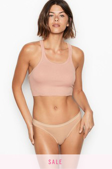 Victoria's Secret Stretch Cotton Thong Panty