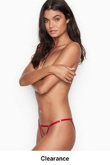 Victoria's Secret Strappy Cheekini Panty