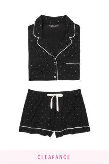 Victoria's Secret Heavenly by Victoria Supersoft Modal Short PJ Set