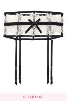 Victoria's Secret Lace Bow Waist Cincher