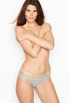 Victoria's Secret Lace Waist High-leg Brief Panty