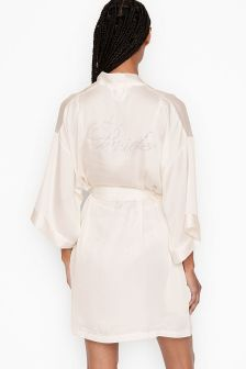 Victoria's Secret Bridal Satin Robe
