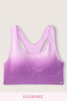 Victoria's Secret PINK Seamless Lightly Lined Gym Racerback