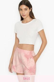 Victoria's Secret Stretch Fleece Track Short